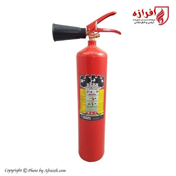 کپسول آتش نشانی 3 کیلوگرمی دژ