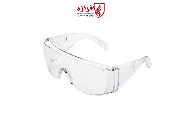 عینک ایمنی بغل دار