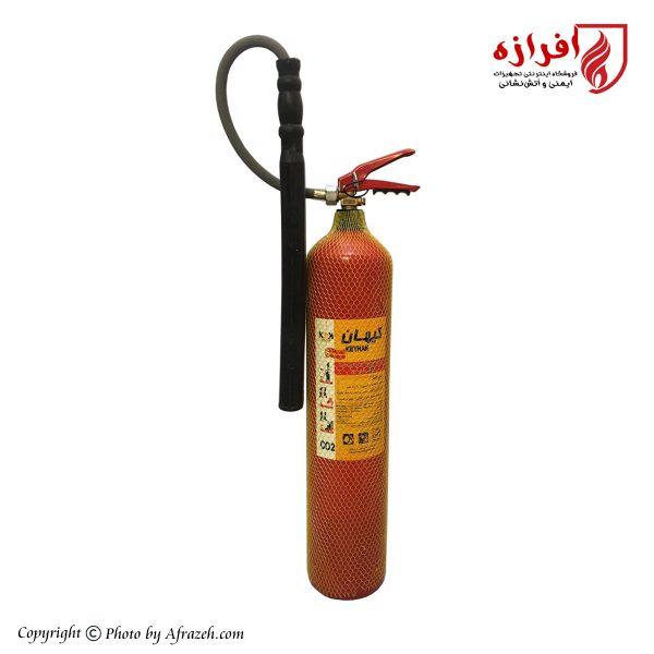 کپسول آتش نشانی 6 کیلوگرمی کیهان